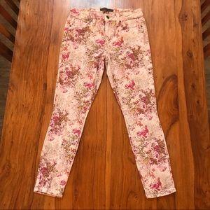 Genetic Brooke Romeo Floral Jeans 27 x 26